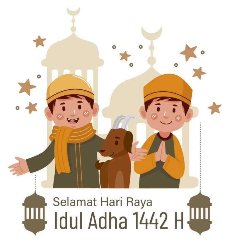 Miliki Gambar Ucapan Selamat Hari Raya Idul Adha, Gratis
